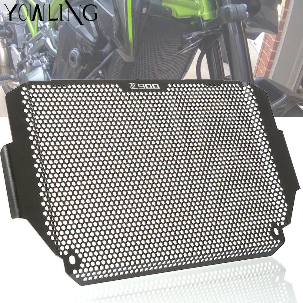 FOR Kawasaki Motorcycle Accessories Z900 Radiator Grille Guard Protection Motorbike Radiator Guard z900 2017-2018 цена