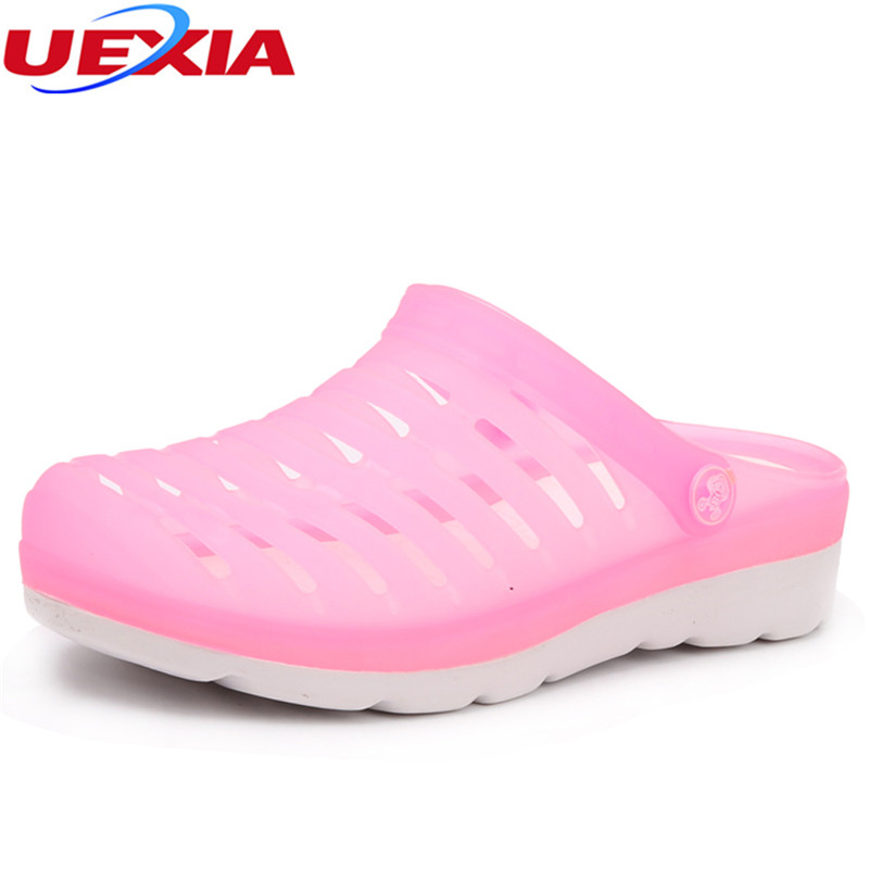 UEXIA Thick bottom Casual Summer Beach Leather Ankle Strap Cross-tied Gladiator Thongs Shoes Roman T-Strap Women Shoes Sandals cootelili real fur ankle strap gladiator sandals women flats 2017 summer tassel shoes ladies wedding beach sandals bohemian