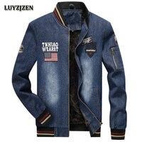 New Arrival Denim Jacket Men Fashion Stand Collar Zipper Autumn Winter Casual Men S Jackets Jeans