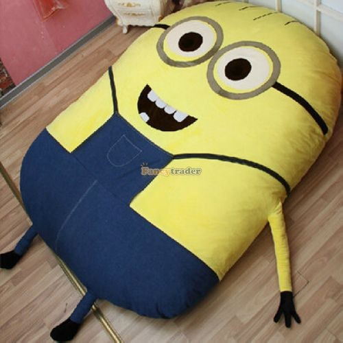 Fancytrader 230cm X 150cm Giant 3D Despicable Me Minion Bed Carpet Sofa Tatami, Free Shipping FT90230 (11)