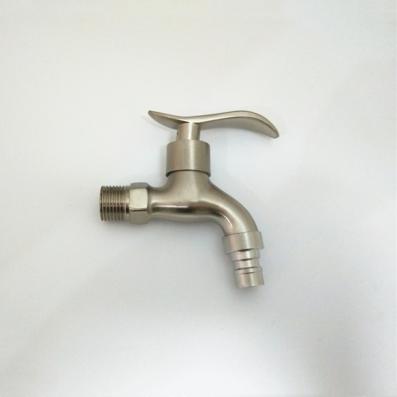 Modern Fashion Garden 304 Stainless Steel Fast Open Faucet/ Wall Mounted Taps /Bibcocks Cold Water Faucet