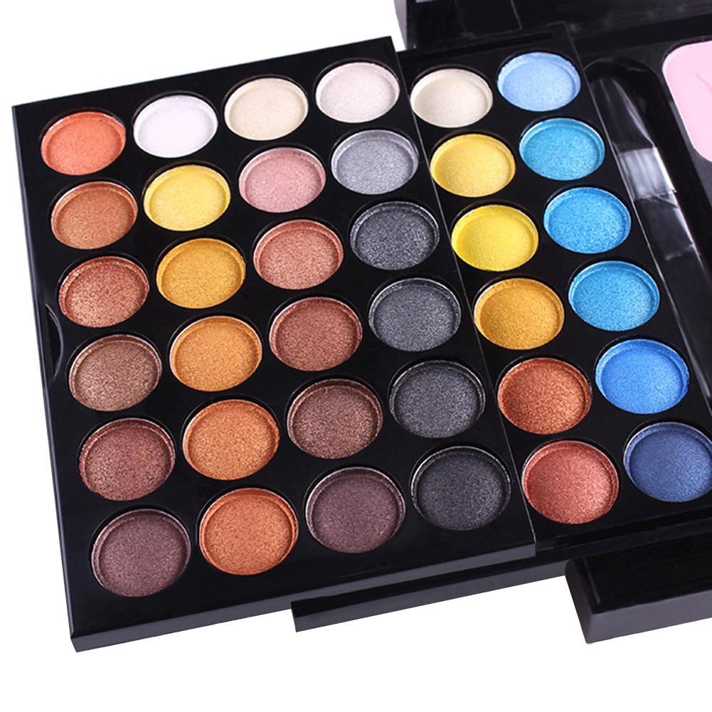 Eye Shadow Palette Blush Pressed Powder Makeup Cosmetics Box miss rose plate of the piano box eye shadow makeup of dumb light of pearl tray blush powdery cake grooming powder cosmetics box