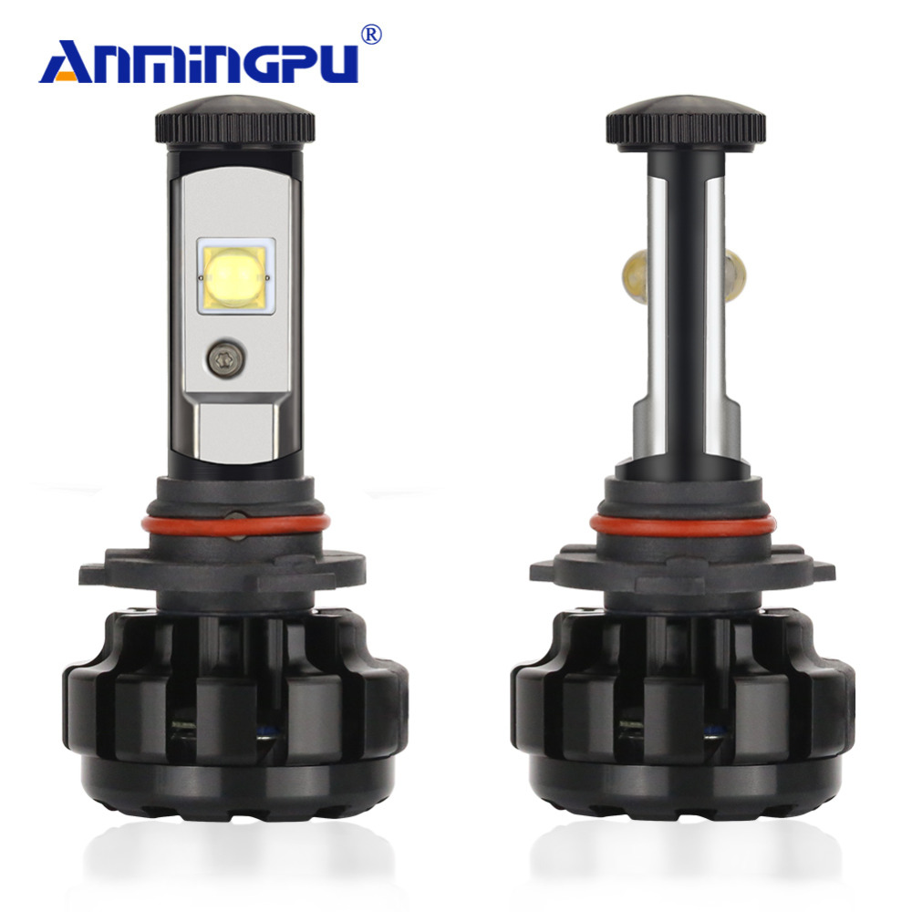 ANMINGPU 2PCS 12000LM/Pair Headlight Bulbs H7 Led H4 Headlight XHP50 Chips H11 LED H1 H3 H9 9005 9006 H13 9004 Car Light Bulbs 100w 220v ac dc insulated ptc ceramic air heater ptc heating element electric heater 113 35 26mm