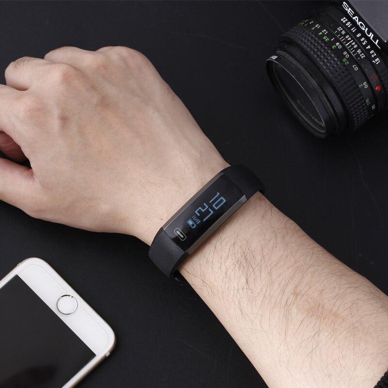 BUMVOR Original R5 Smart wrist Band Heartrate Blood Pressure Oxygen Oximeter Sport Bracelet Watch intelligent For iOS Android