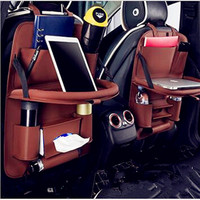 Soft And Wear Resistant Good Flexibility Car Computer Desk Cup Holder Multi Purpose Storage Bag Simple
