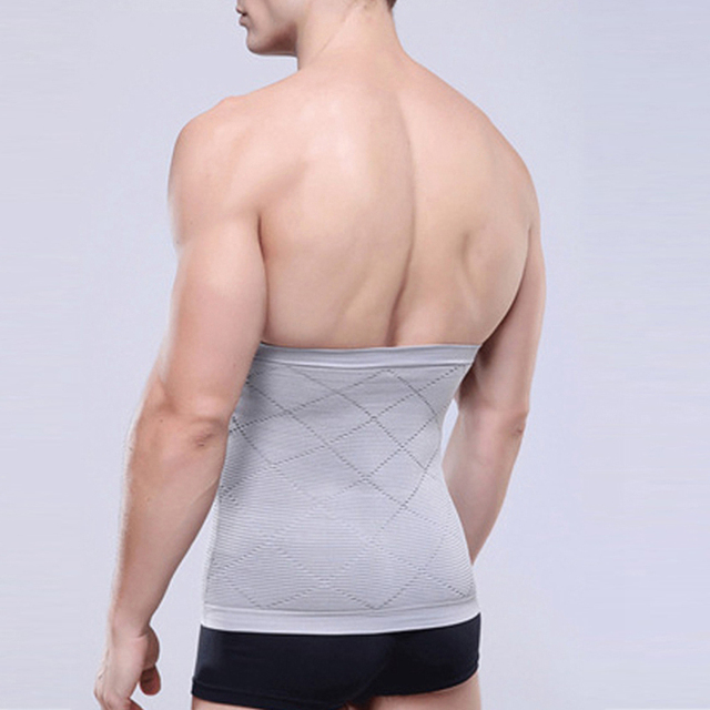 Male Waist Trimmer Body Shaper Tummy Control Stomach Girdle Tuck Belt Weight Loss Corset Belly Reducer Men Shapers 1