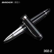 BAOER 302 Metal Ballpoint Pen Office School Supplies Stylus