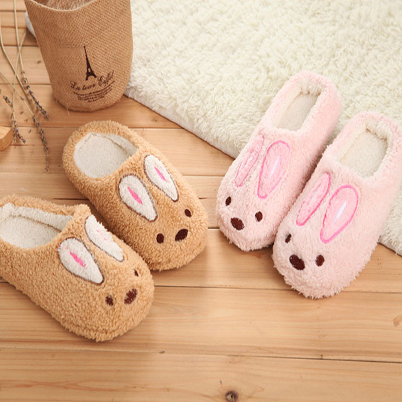 01aed20b5 Online Shop Female Cartoon Animal Cute House Slippers Adult