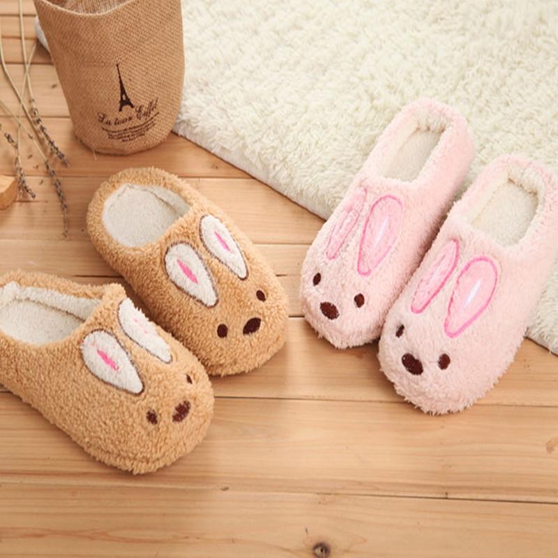 Female Cartoon Animal Cute House Slippers Chinelos De Homens. Cute Bedroom Slippers   Home Design