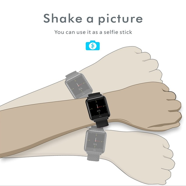 TISHRIC Q9 Smartwatch/Smart Watch Women/Men/Bluetooth Bracelet For Apple Android Iphone Watch Waterproof Sport Blood Pressure