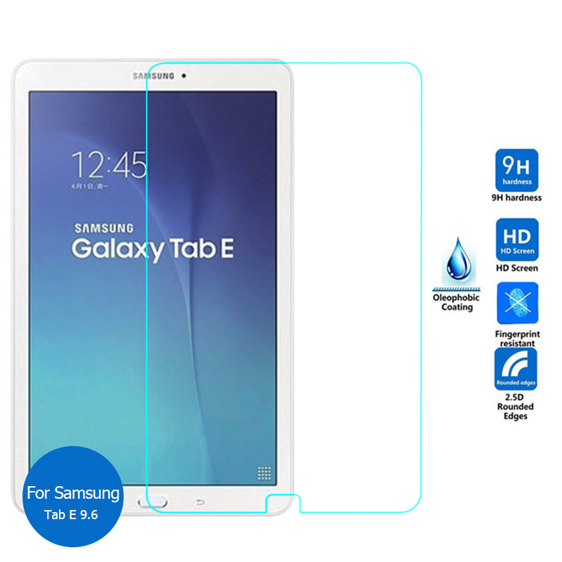 Tempered Glass For Samsung Galaxy Tab S3 Tab E 8.0 9.6 Inch Tab A 10.1 T560 T561 T377 T375 T113 HD Tablet Screen Protector Flim