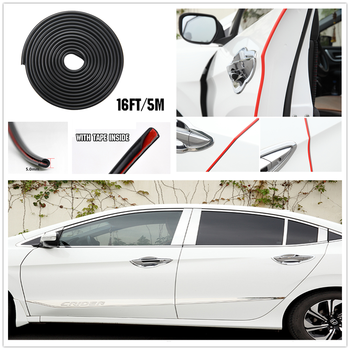 Car Door Edge Guard Cover Strip line for KIA RIO K3 K4 K5 Sportage SORENTO venga Hyundai Avante Sonata Santafe i20 i30 image