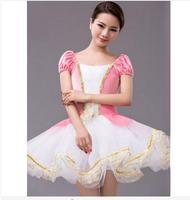 Classical Ballet Tutu Professional Ballet Tutu Dress Costume Adult Kids Girls Dance Ballet White Pink Pancake