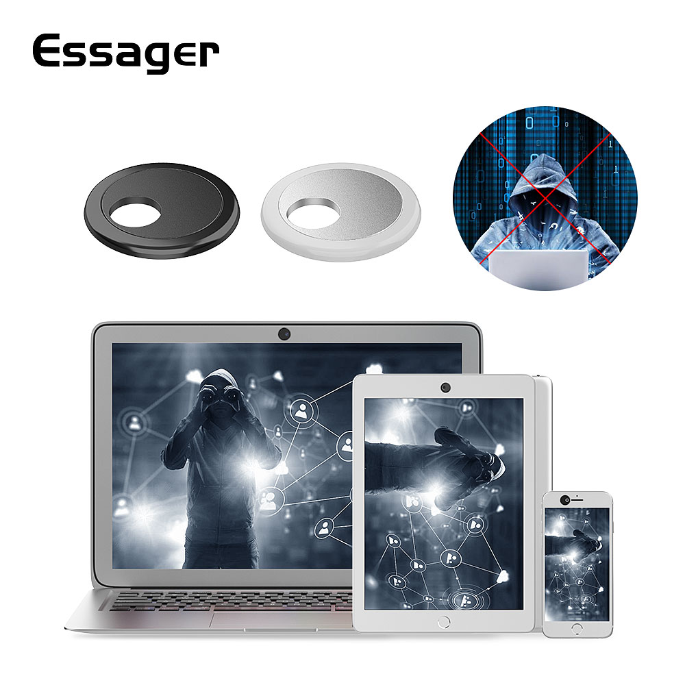 Essager WebCam Cover Privacy Protection Shutter Sticker Camera Cover for iPhone Xiaomimi Samsung Web Laptop iPad PC Mac Tablet image