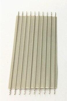 10 шт. 2,54 мм расстояние жесткий серый плоский кабель 10 P * 50 мм 0,1 квадратный плоский кабель сварочного аппарата линия 5 см подключения линии пл...