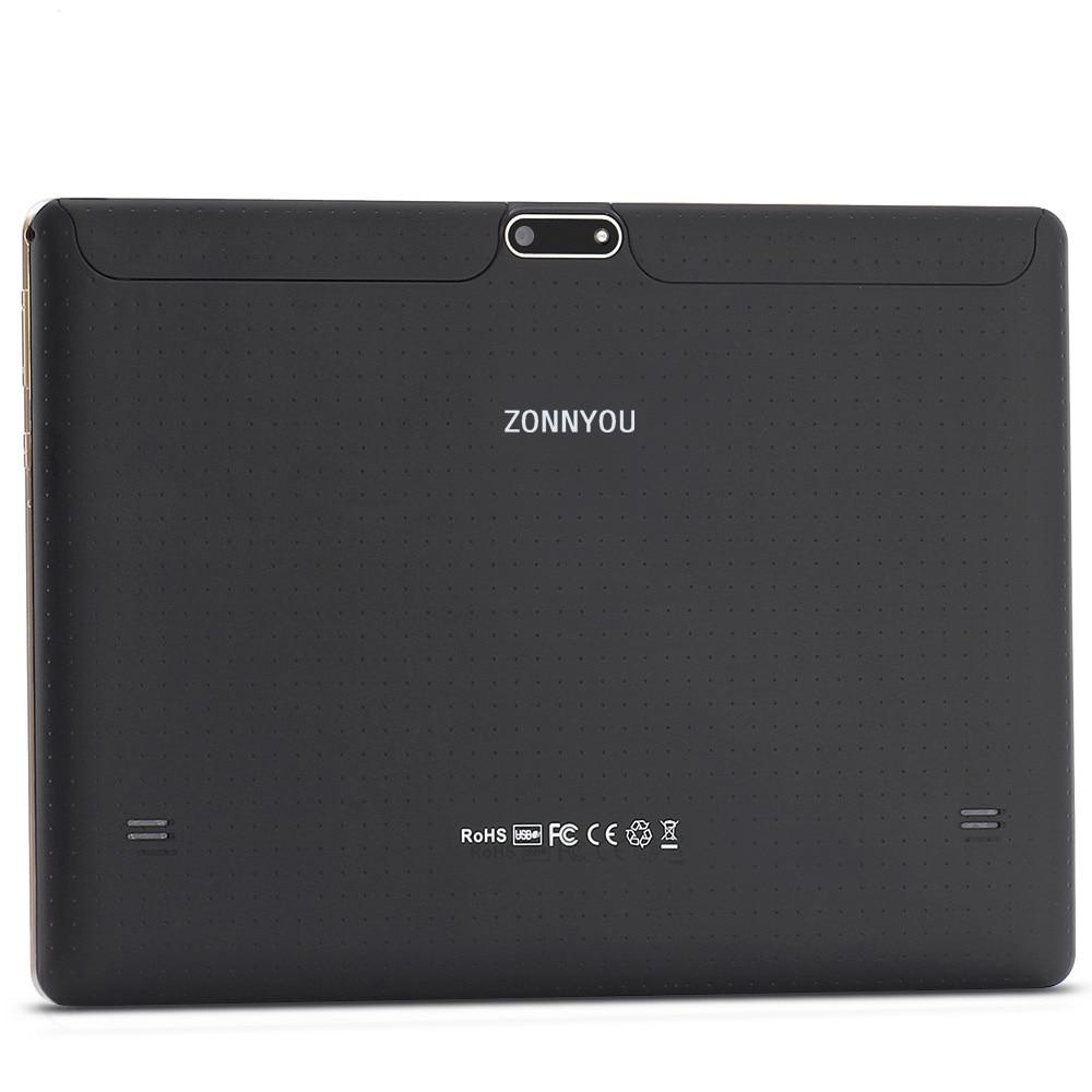 10.1 pouces tablette Android 8.0 4G/3G appel téléphonique octa-core 4GB Ram 64GB Rom intégré 3G Bluetooth Wi-Fi tablette PC + clavier - 6