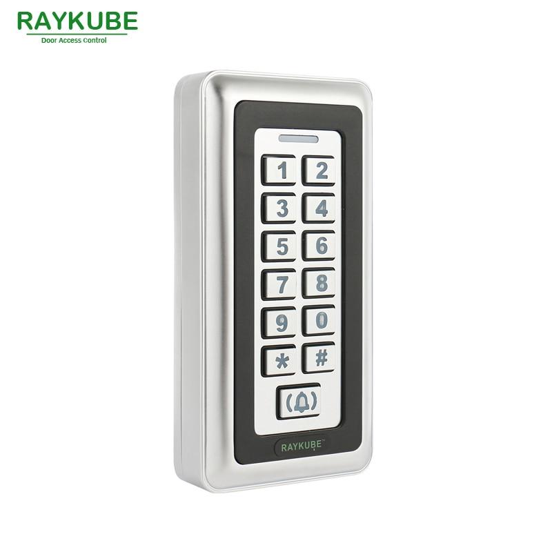 RAYKUBE Kit de contrôle d'accès de porte en verre sans cadre à - Sécurité et protection - Photo 5