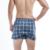BXMAN 7 Unids/lote Marca Tejida Algodón de Los Hombres Calzoncillos Hombres Ropa Interior Boxers ropa Interior Hombre Clásico de la Tela Escocesa