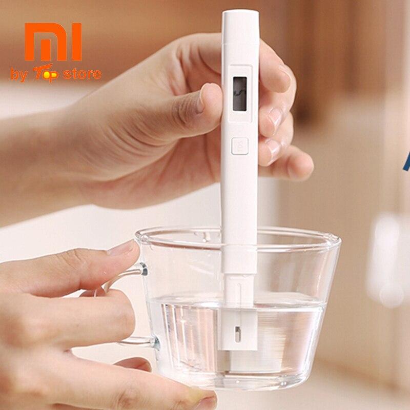 Xiaomi Xiomi MI Bewegliche TDS Meter Tester Wasserqualität Test Reinheit Erkennung Prüfung Meter EC TDS-3 Digitale IPX6 Wasserdichte