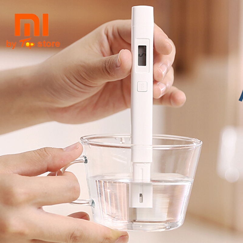 Xiaomi Xiomi MI Portable TDS Meter Tester Water Quality Test Purity Detection Testing Meter EC TDS-3 Digital IPX6 Waterproof цена 2017
