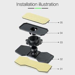 Image 3 - GEYIREN 2017 car HUD head up display bracket flexible 360 adjustment smartphone holder for any size mobile HUD Navigation E dog