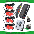 new OEM sensor parking LED cresent display three types of colors alert adhesion sensor