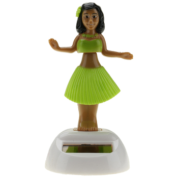 Citygirl Plastic Solar Powered Hawaii Hula Girl Swinging Dancing Toy 6