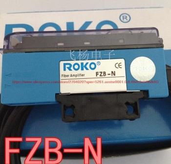 100% NEW FZB-N Fiber Optic Amplifier Digital Display Smart Digital Display NPN