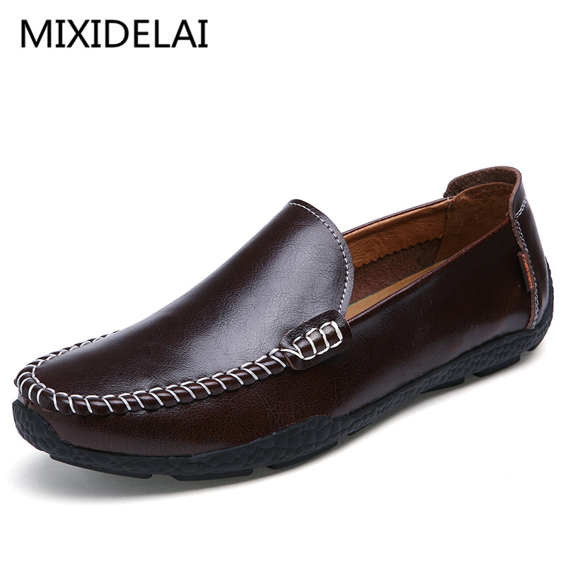 Brand Fashion Summer Style Soft Moccasins Men Loafers High Quality Genuine Leather Shoes Men Flats Gommino Driving Shoes cbjsho brand men shoes 2017 new genuine leather moccasins comfortable men loafers luxury men s flats men casual shoes