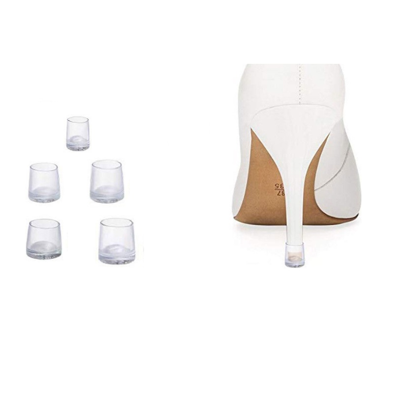 50pairs (XS S M L XL) High Stiletto Heeled High Heel Protectors Heel Stoppers Shoes Covers Caps For Lawn Wedding Party