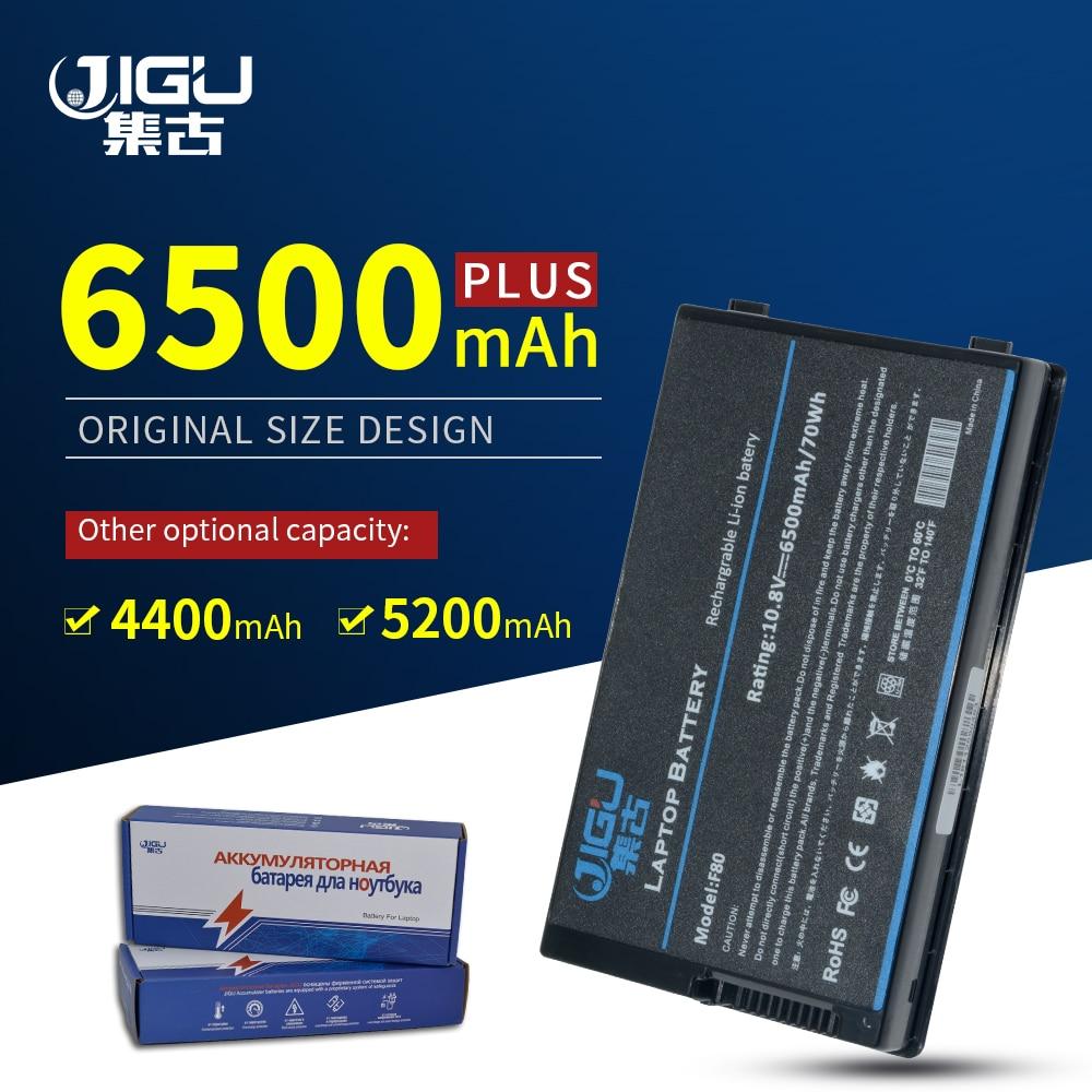 JIGU Laptop Battery For Asus A32-F80 F5 F50Z F80 F83 X80 X80 X81 A32-A8 A32-F80A A32-F80H F80 90-NF51B1000Y 70-NF51B1000