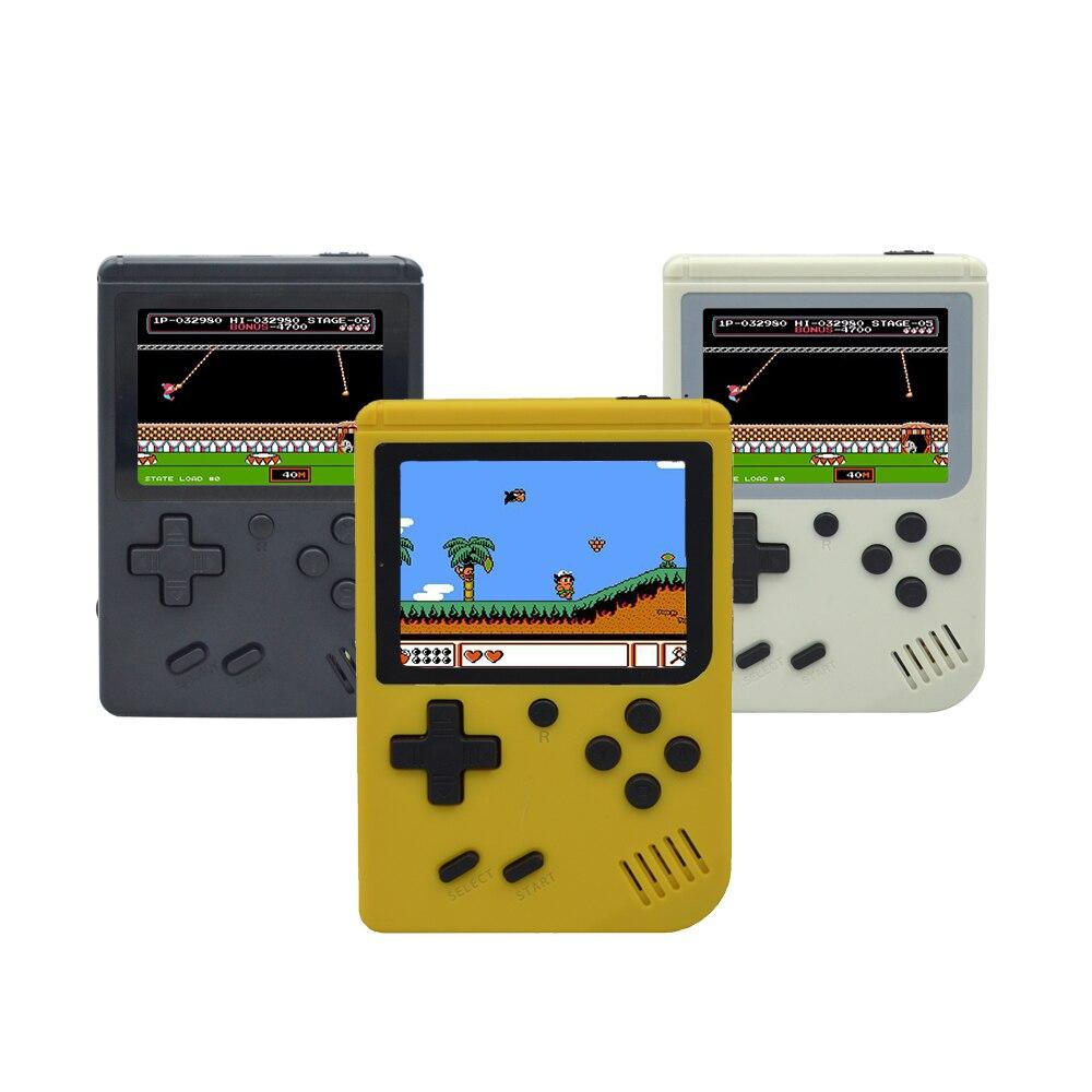 Retro FC Video Game Console Retro Game Mini Portable Handheld retro Players  8 Bit Classic Gamepad Built In 168 Classic-FC Games