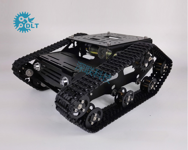 TR300 tracked Tank bottom Board Intelligent vehicle Robot cross-country Obstacle crossing diy tracked vehicle robot obstacle crossing chassis smart tank car