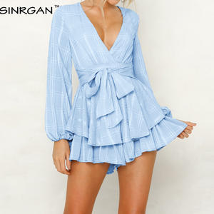 SINRGAN Short Romper...