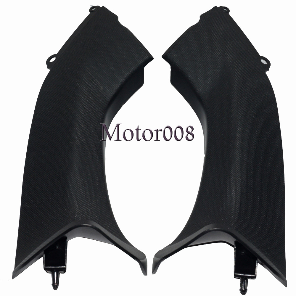Motorcycle Unpainted Air Duct Cover Fairing Plastic Tube For KAWASAKI Ninja ZX10R 2006 2007 06 07