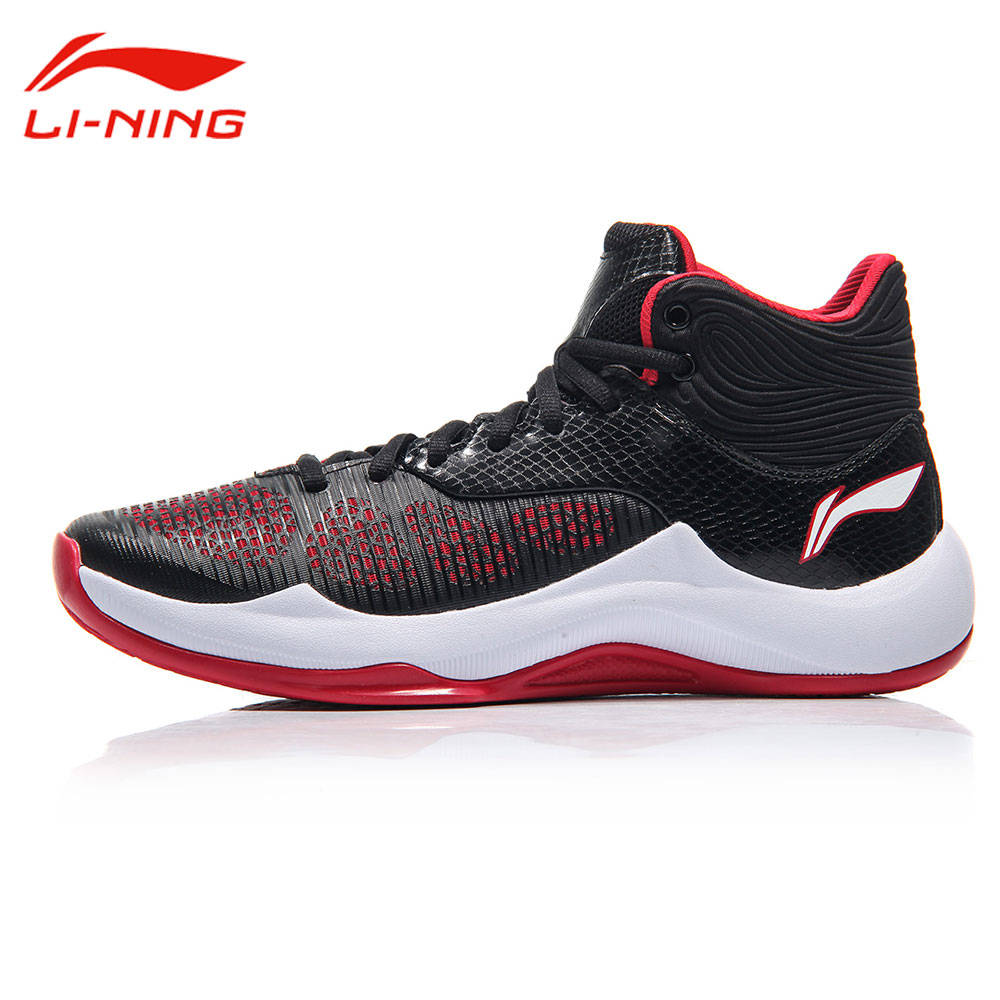 Li-Ning Men's Sonic V TD Basketball Shoes Support Anti-Slip Cushion Sneakers LiNing Professional Sports Shoes ABPM005 li ning brand men basketball shoes sonicv series professional camouflage sneakers support lining breathable sports shoes abam019