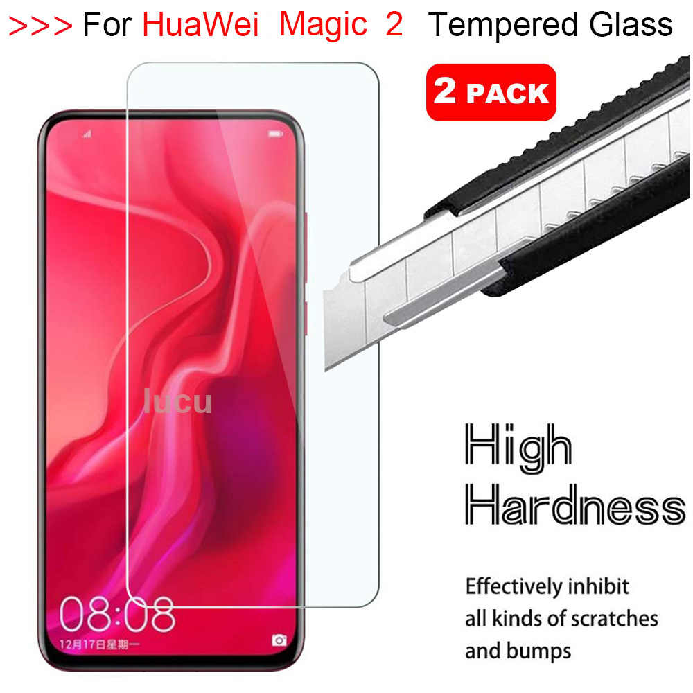 Lucu Vakker 2 5D 9H Screen Protector For HuaWei Honor Magic 2 HD Tempered Glass For HuaWei Honor Magic 2 Protective Glass