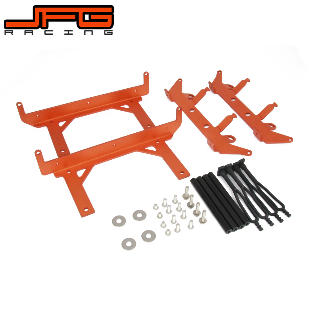 Motorcycle Radiator Guard Cover Bracket For KTM SX SXF XCF SX-F XC-F 125 150 250 300 350 400 450 2016 ALL MODEL 2017 2018 aluminum alloy radiator for ktm 250 sxf sx f 2007 2012 2008 2009 2010 2011