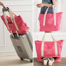 ZW040 Fashion Business travel portable shoulder storage bag package 40*16*35cm
