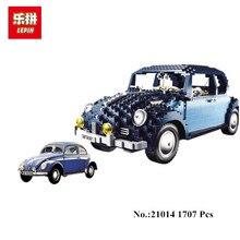 В наличии Лепин 21014 1707 шт. классические серии конечной жук набор автомобиль-Стайлинг строительные блоки кирпичи игрушки для детей Подарки