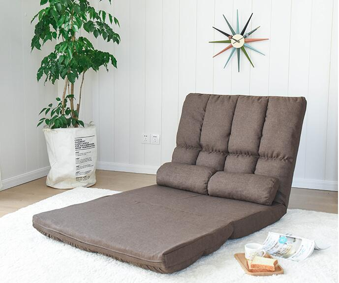 Adjustable Lazy Lounge Bed Floor Chaise Fold Out Lounger Tatami Floor Mat Sleeping,Foldable Japanese Mattress Lounge Sofa Chair nautical wheel chaise lounge finish sand