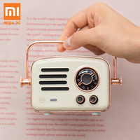 2019 Xiaomi Smart Radio Retro Futurism Network FM Station HIFI Level Charge Bluetooth AUX Speakers Wifi Internet Portable Radio