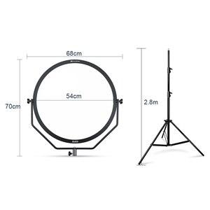Image 3 - الصقر عيون SO 68TD 68W LED لوحة عكس الضوء عالية CRI95 3000 5600K الإضاءة فيديو فيلم المستمر ضوء مع 2.8M ضوء حامل