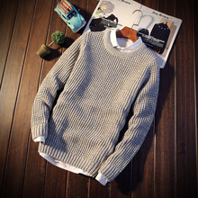 Mens Jumper Sweater For Men Knitted Sweaters Waistcoat Merino Wool Cashmere Pullovers Winter And Striped Pull Pullover m09