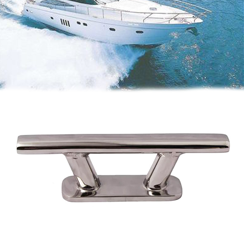 Stainless Steel Mooring Cleat for Boat Yacht Motorboat