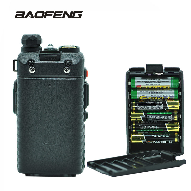 Baofeng UV 5R  Battery Case Shell Black For Portable Radio Two Way Transceiver Walkie Talkie Baofeng UV 5R UV 5RE|walkie talkie|walkie talkie baofeng|baofeng uv-5r - title=