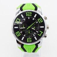 Green Waterproof Watch For Man Quartz Wristwatch Mens Top Famous Brand Watches Topmerk Original Clock Stduents