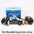 Cámara de Reserva del coche Para Hyundai ix35 2009 ~ 2014/RCA Con Cable O Inalámbrica/HD Lente Gran Angular/Visión Nocturna del CCD Cámara de Visión Trasera