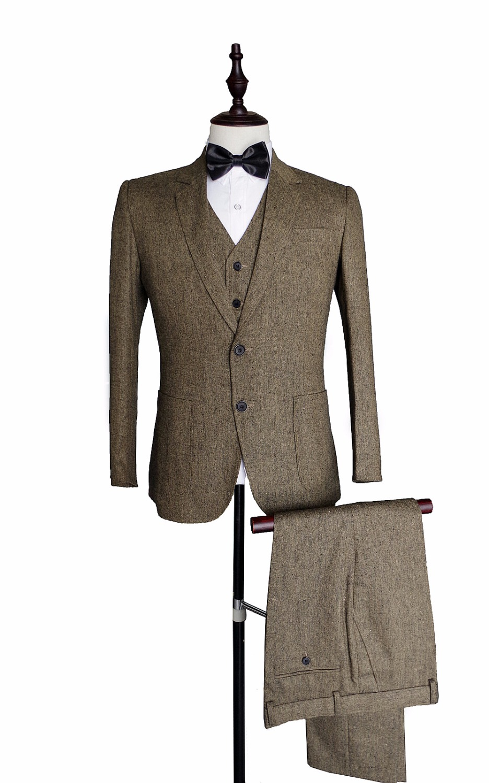 Popular Tweed Jacket Brown-Buy Cheap Tweed Jacket Brown lots from ...