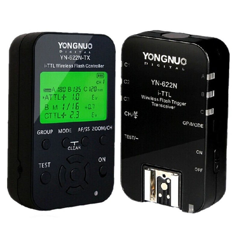 Top Quality Yongnuo YN-622N Wireless TTL Flash Controller Flash Trigger Transceiver Kit Brand New YN 622N For Nikon Flash Camera купить